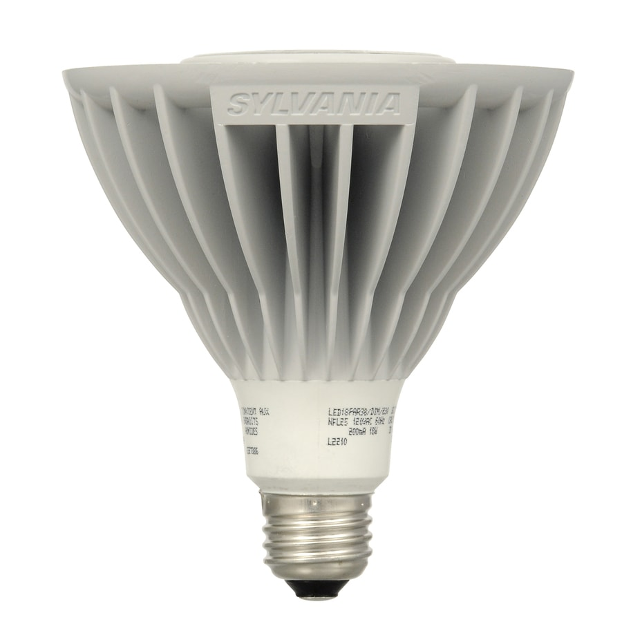 Shop Sylvania 50 W Equivalent Dimmable Warm White Par38 Led Spot Light Bulb At