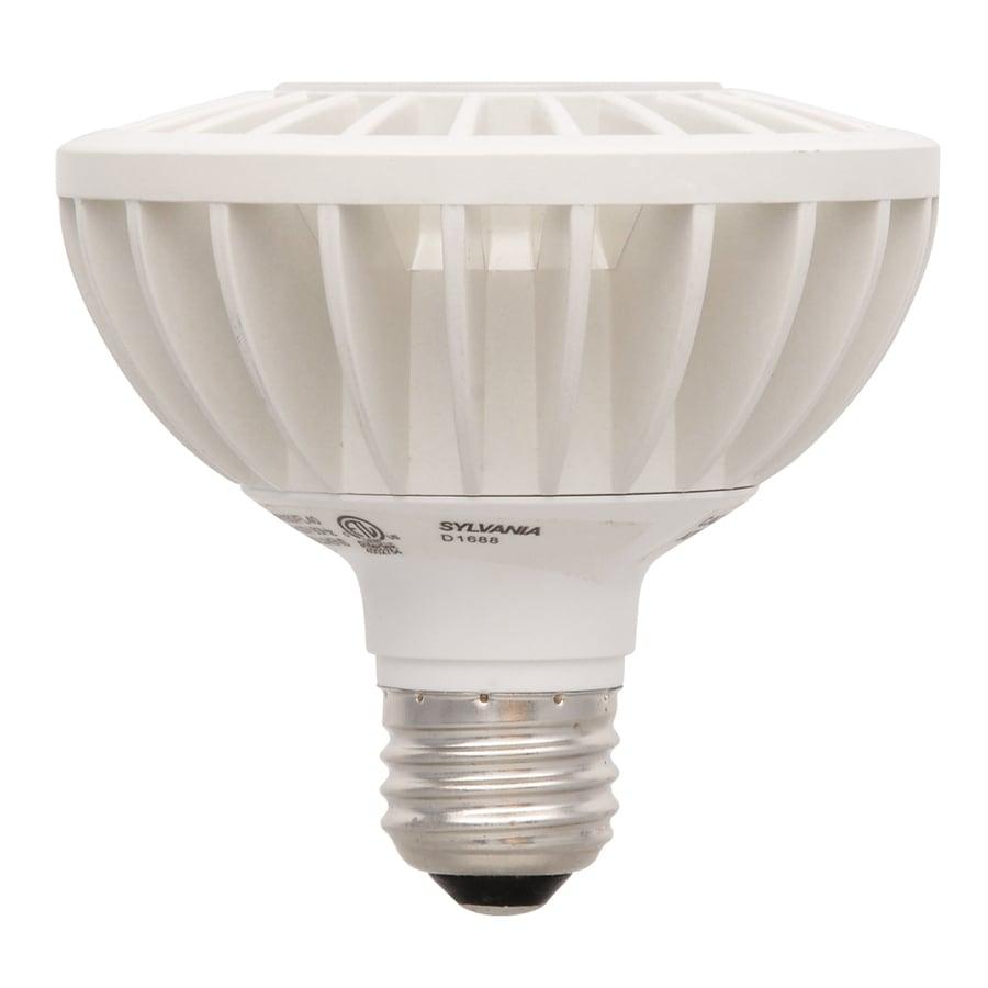 SYLVANIA 50 W Equivalent Dimmable Warm White PAR30 Shortneck LED Flood Light Bulb