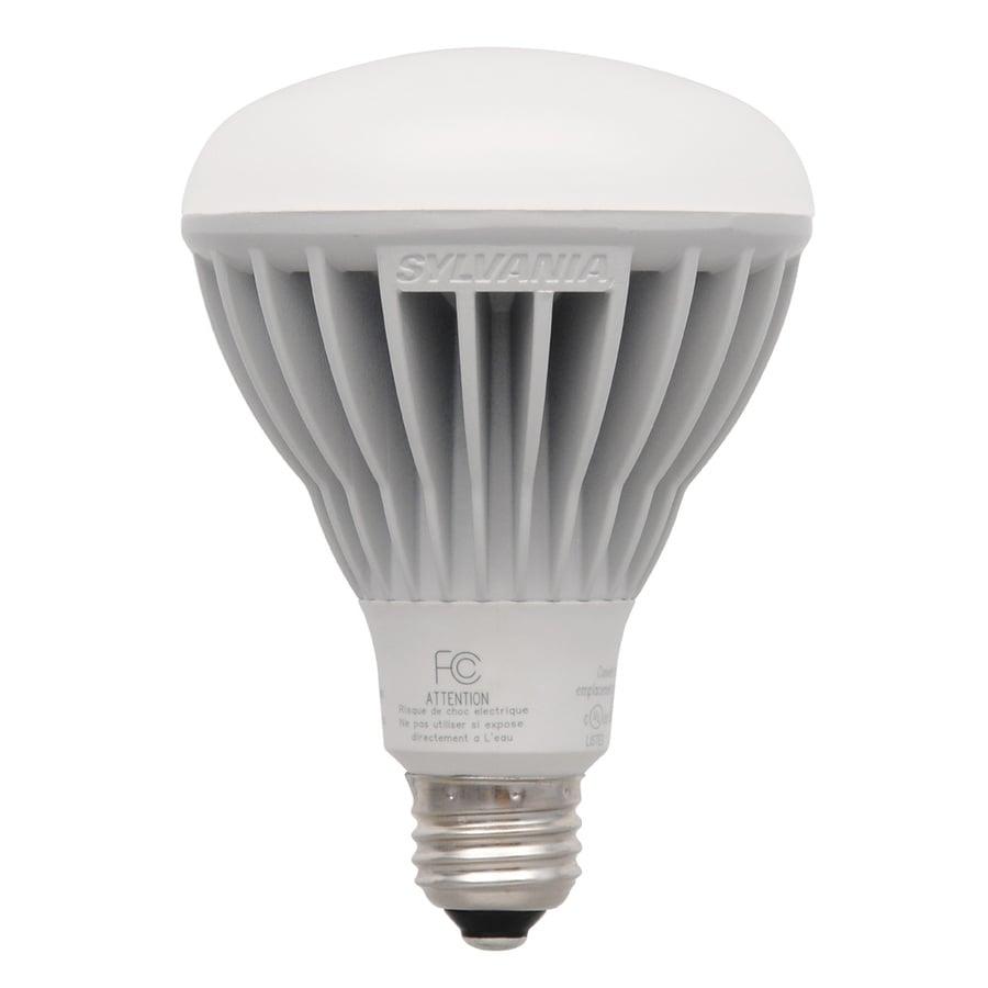 sylvania 65 w equivalent dimmable soft white br30 led flood light bulb