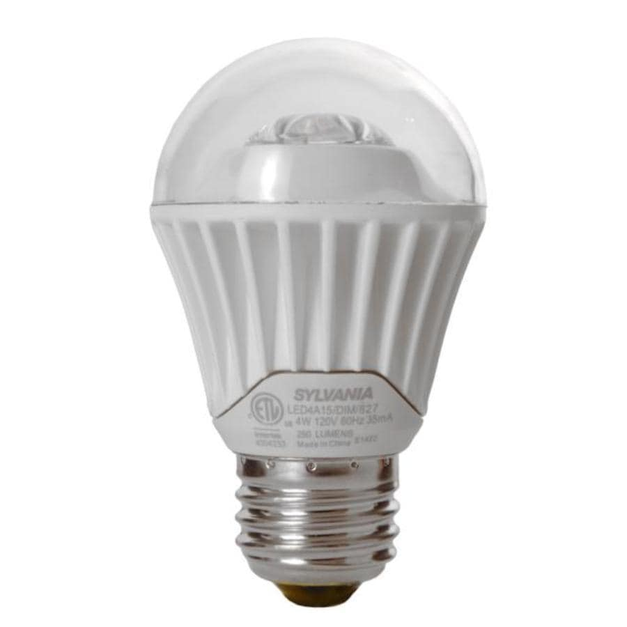 Shop Sylvania Ultra 25w Equivalent Dimmable Soft White A15 Led Light Fixture Light Bulb At Lowes Com