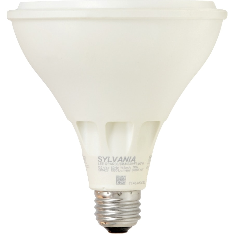 SYLVANIA Ultra 120W Equivalent Dimmable Warm White Par38 LED Flood Light Bulb