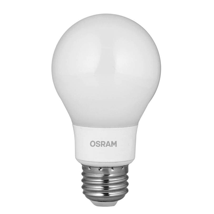 60 w equivalent dimmable soft white a19 led light fixture light bulb. Black Bedroom Furniture Sets. Home Design Ideas