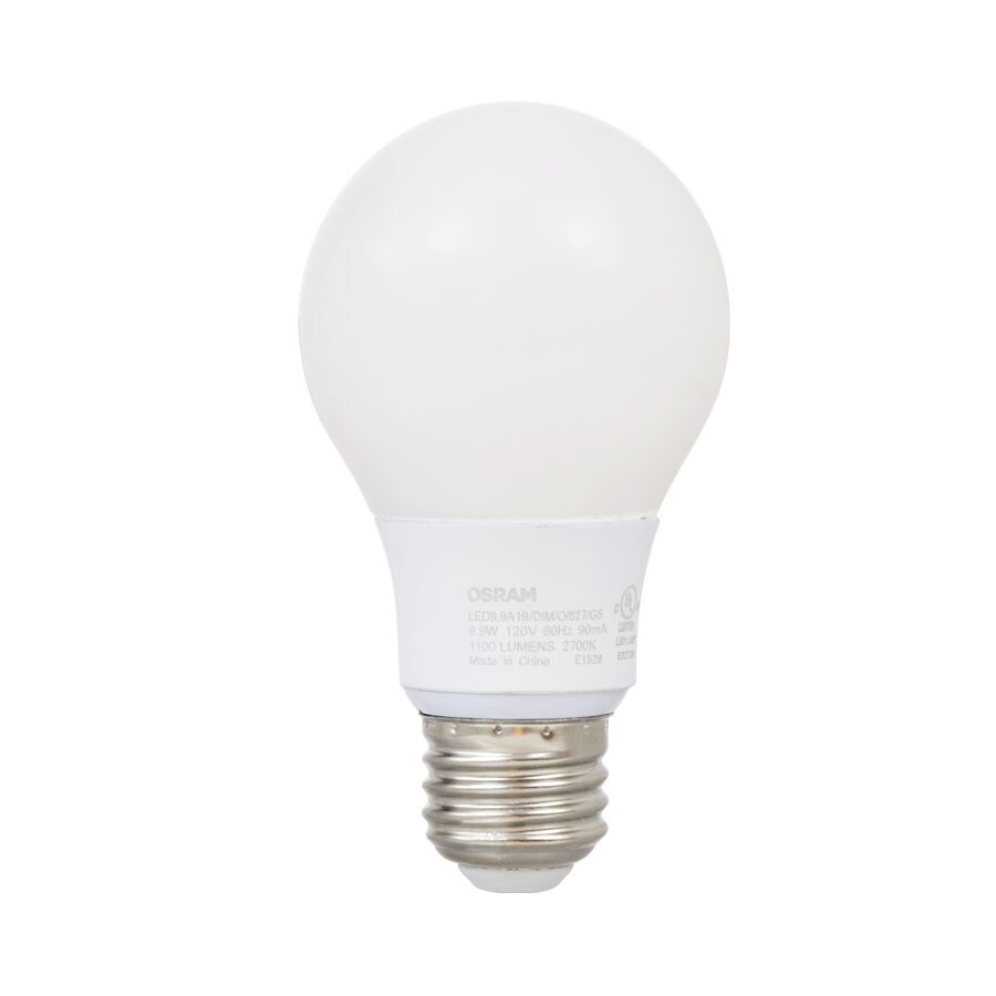 SYLVANIA 75W Equivalent Dimmable Soft White A19 LED Light Fixture Light Bulb