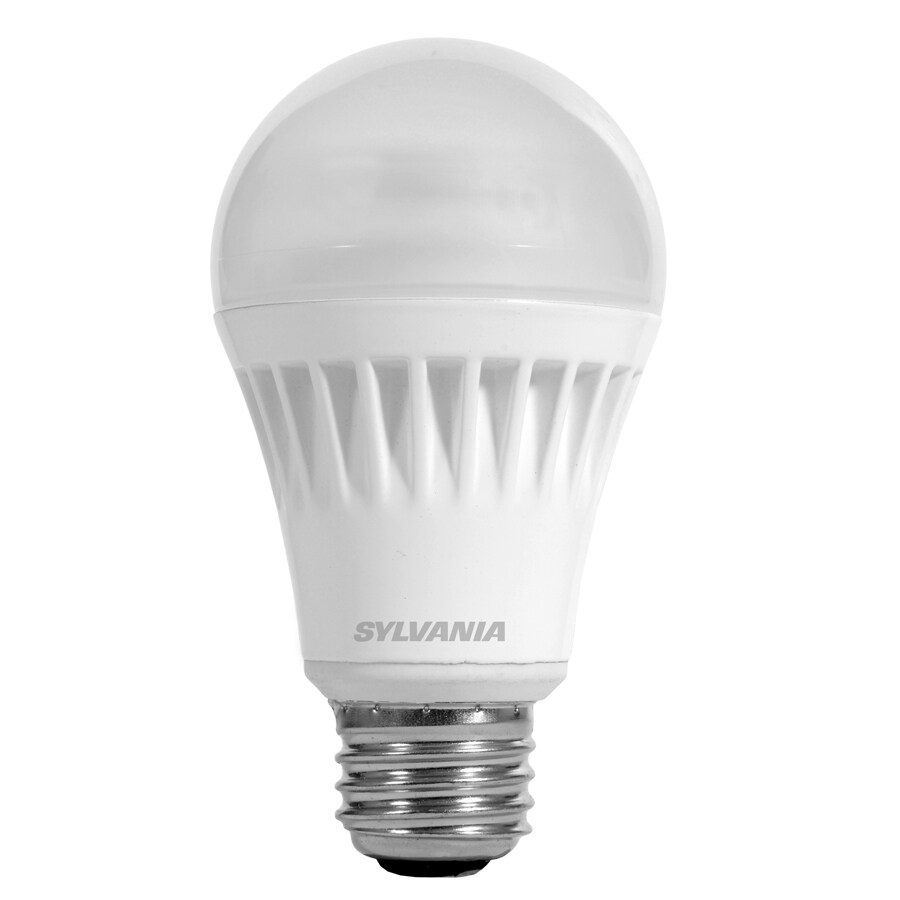 Led Light Fixture Dimmable: Shop SYLVANIA 75W Equivalent Dimmable Daylight A19 LED