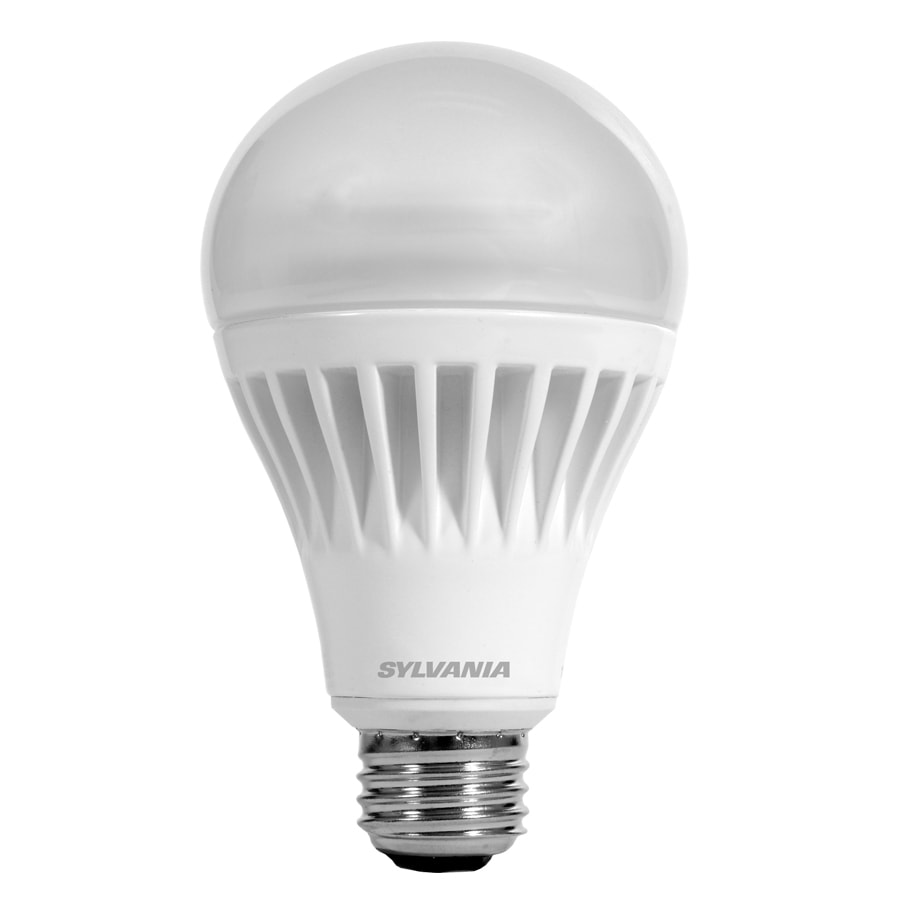 SYLVANIA 100 W Equivalent Dimmable Soft White A21 LED Light Fixture Light Bulb