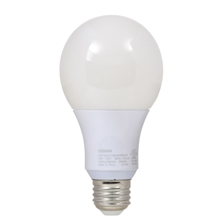 SYLVANIA 100 W Equivalent Dimmable Daylight A21 LED Light Fixture Light Bulb