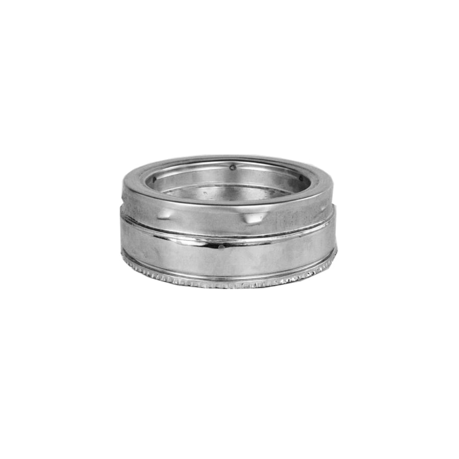 Shop Supervent 8 In X 8 In Stainless Steel Stove Pipe Tee