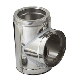 Supervent 8 In X 8 In X 8 In Stainless Steel Stove Pipe