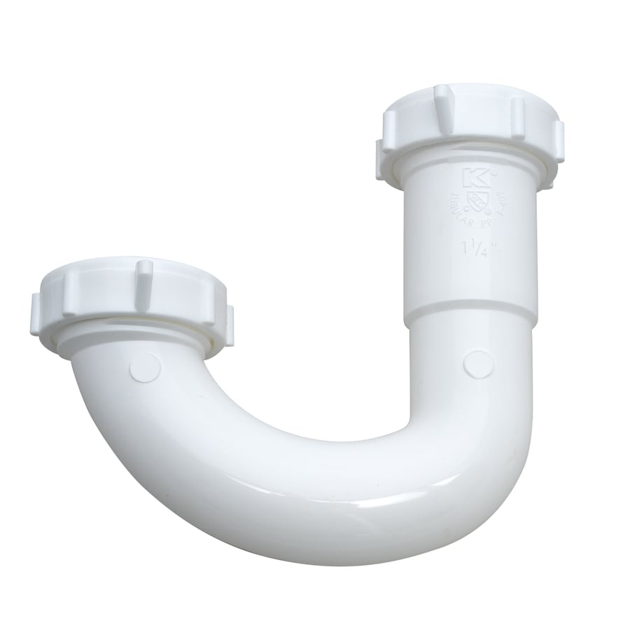 Keeney 1-1/4-in Plastic J-bend