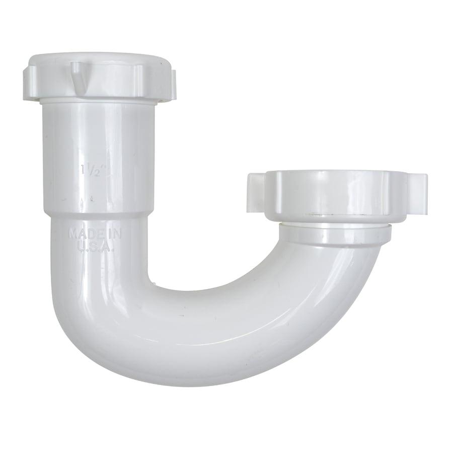 Keeney 1-1/2-in Plastic Sink Trap J-bend