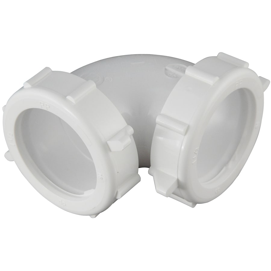 Keeney 1-1/2-in Plastic Elbow Coupling