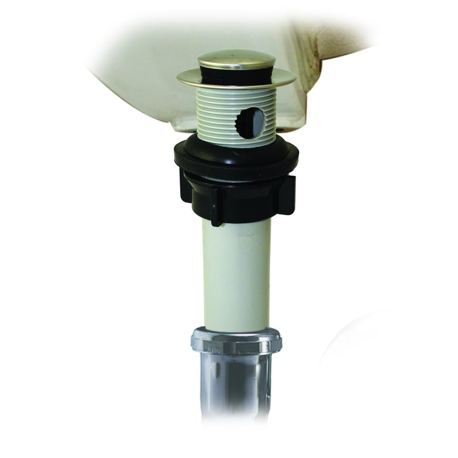 Kitchen Sink Drain Kit: Keeney Chrome Bathroom Sink Pop Up Drain At Lowes.com