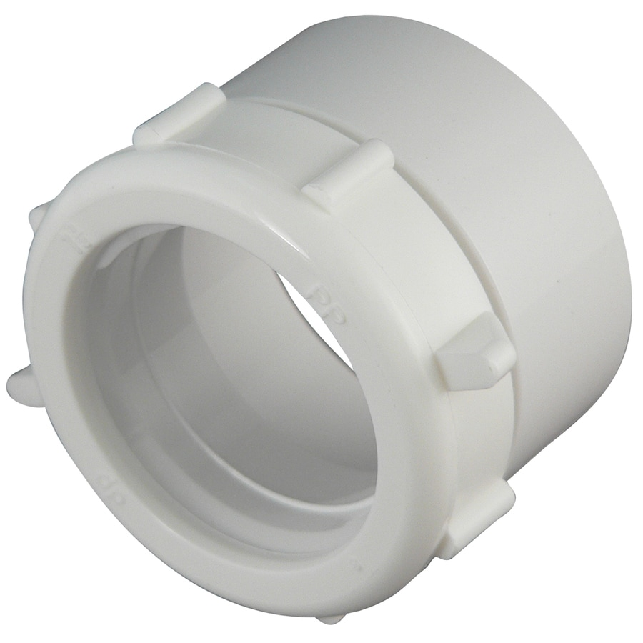 Shop Keeney 1 1 2 In Dia Pvc Sewer Drain Adapter At Lowes Com