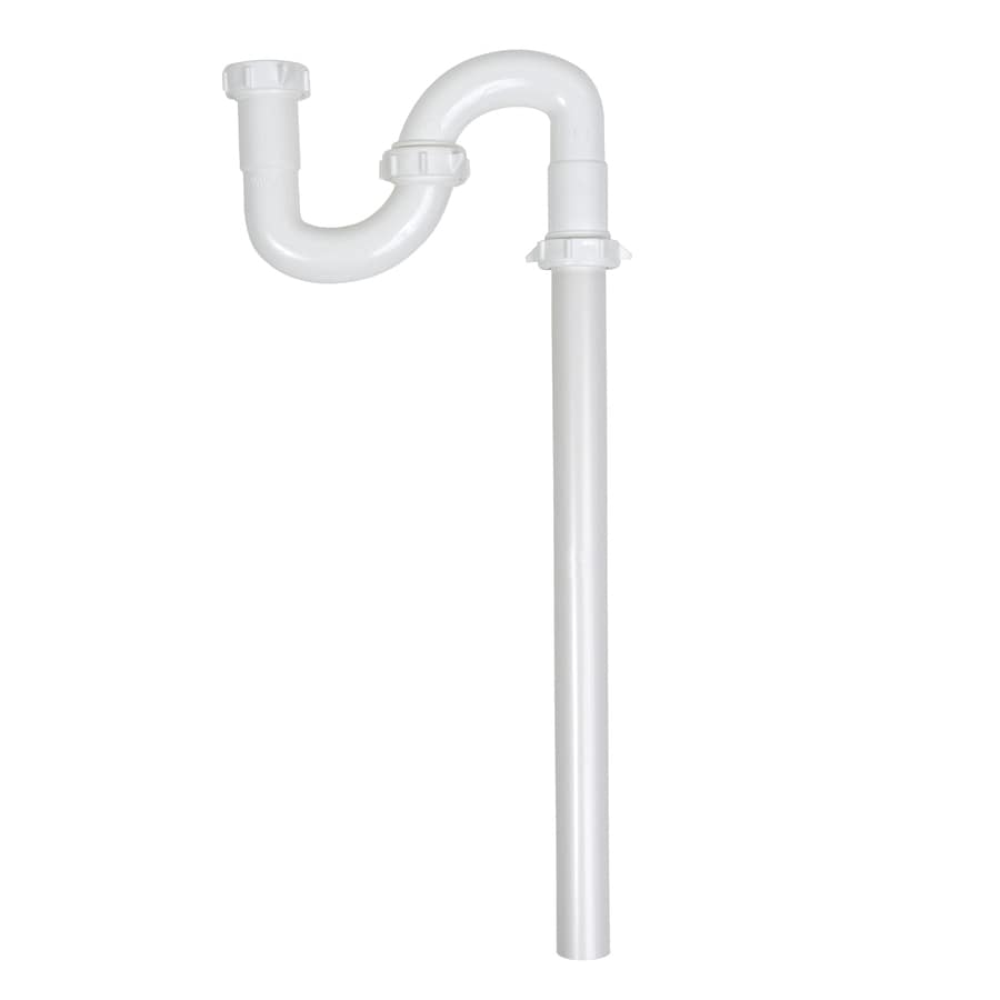 Keeney 1-1/4-in Plastic S-Trap