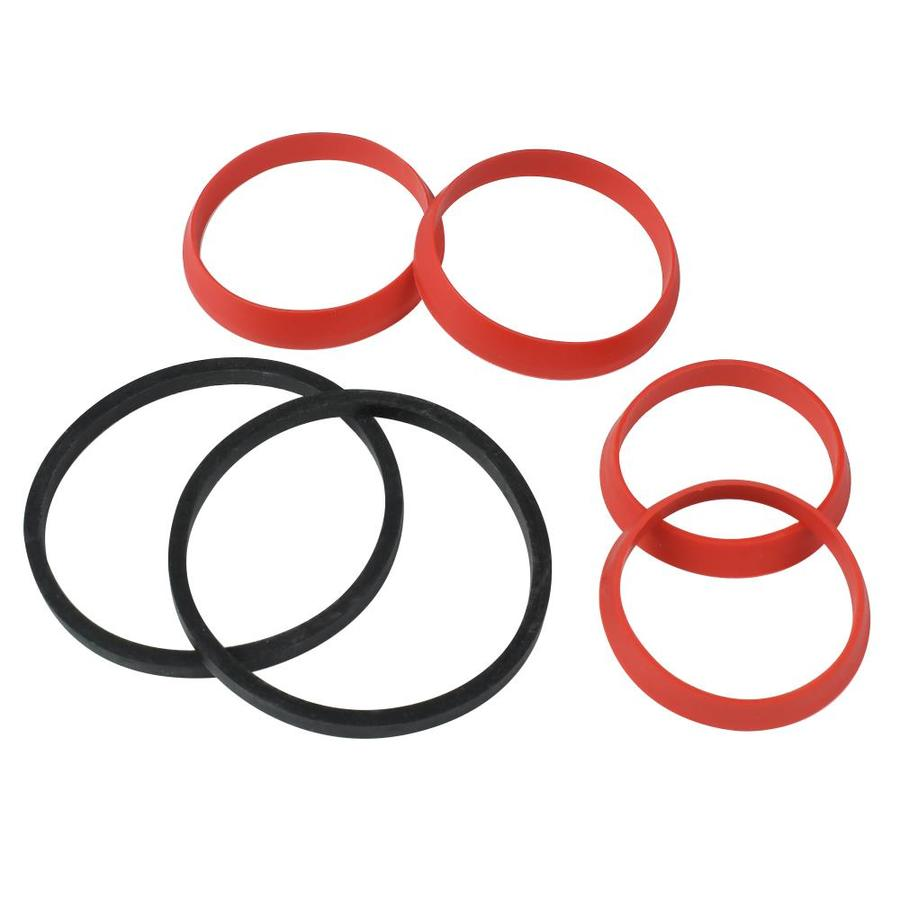 Keeney 6-Pack 1-1/2-in Rubber Assorted Washer