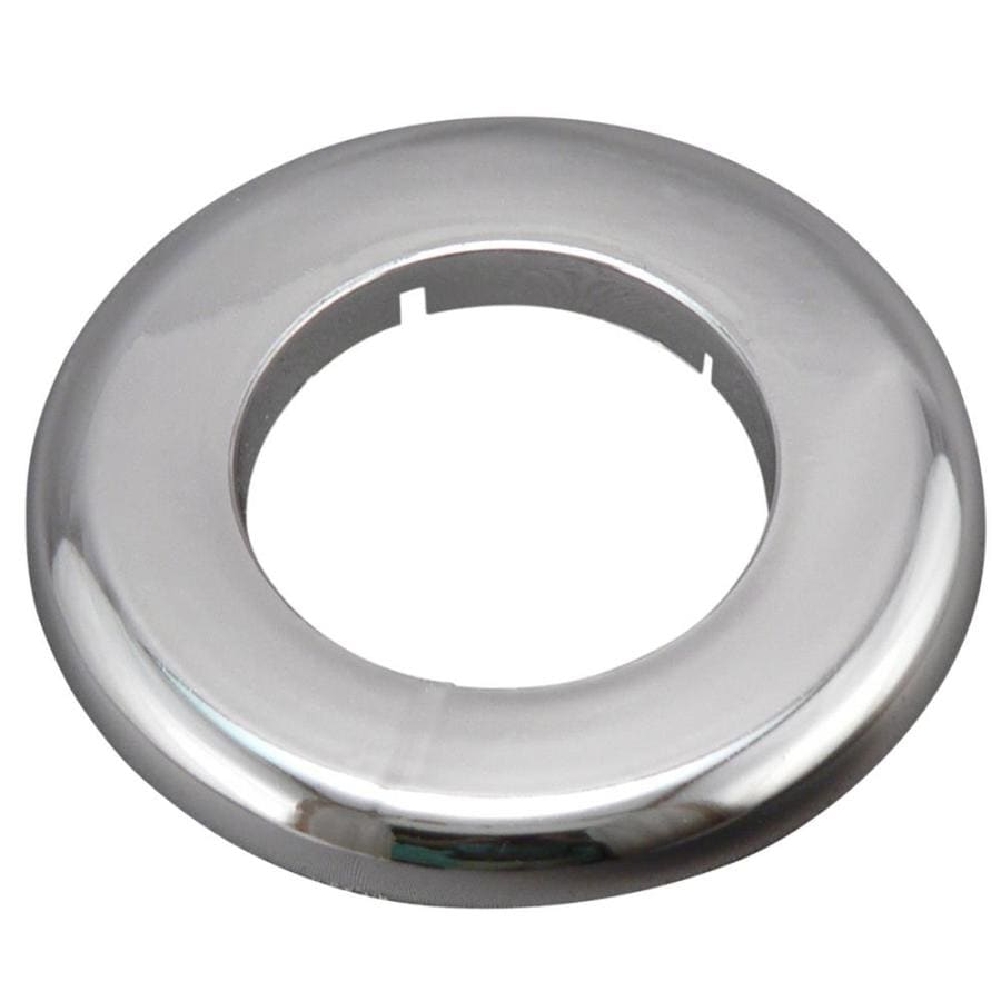 Keeney 2-in Chrome Split Shallow Floor and Ceiling Plate