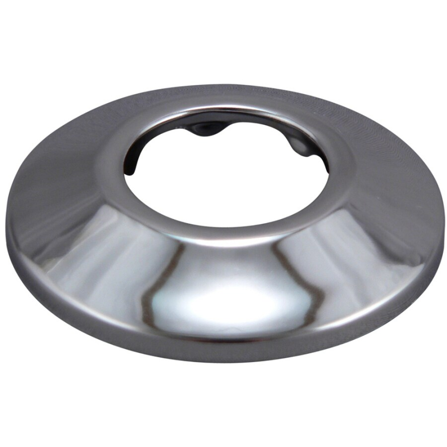 Keeney 1-1/4-in Chrome Shallow Flange