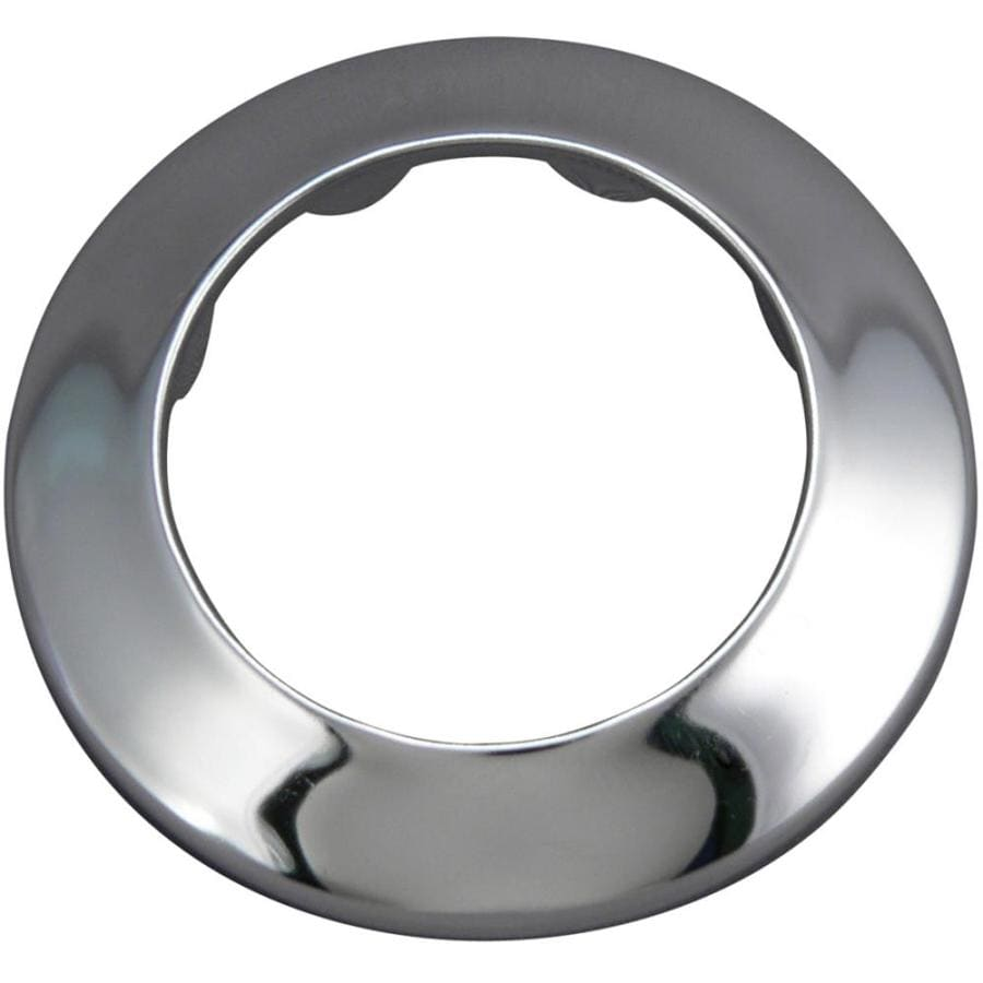 Keeney 1-1/2-in Chrome Shallow Flange