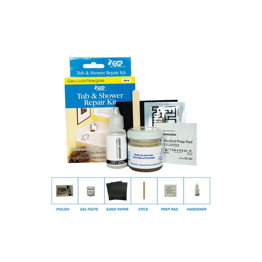 Keeney Bathtub Inlay Kit For Bone Colored Tubs