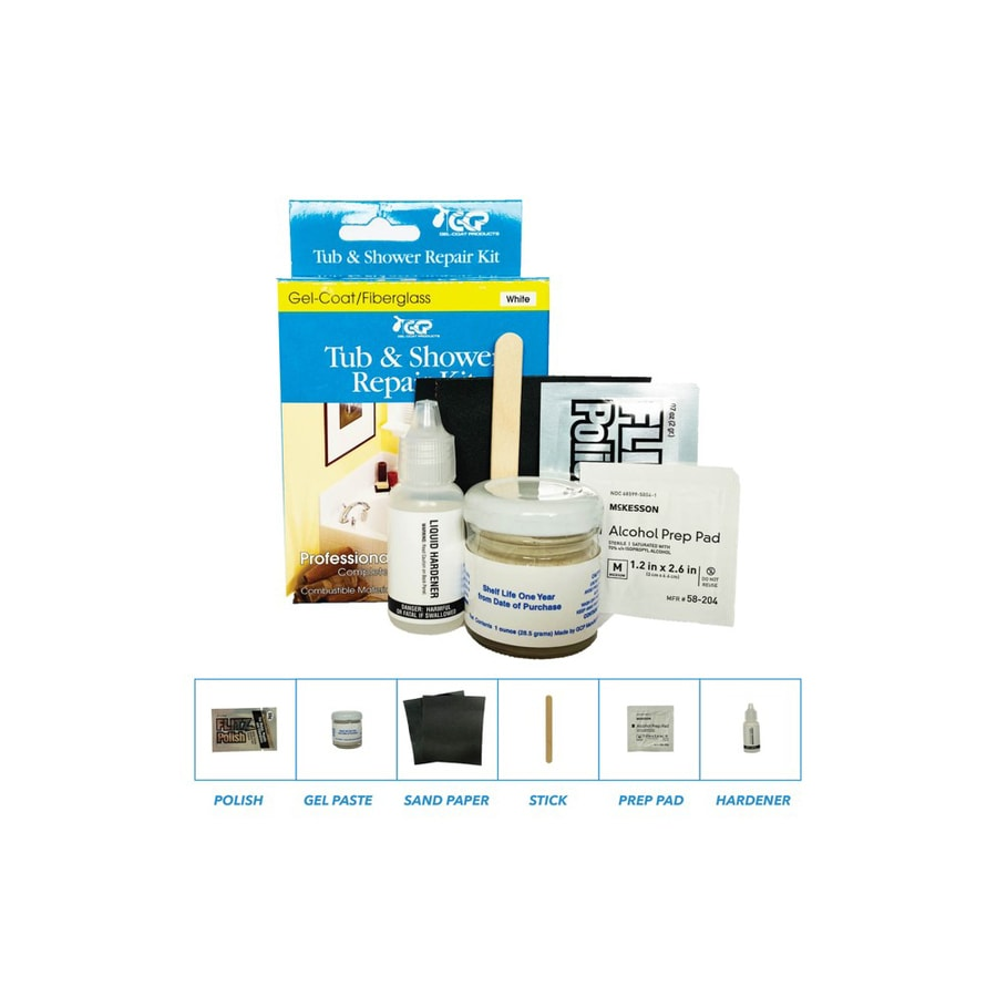 Keeney White Bathtub Inlay Kit