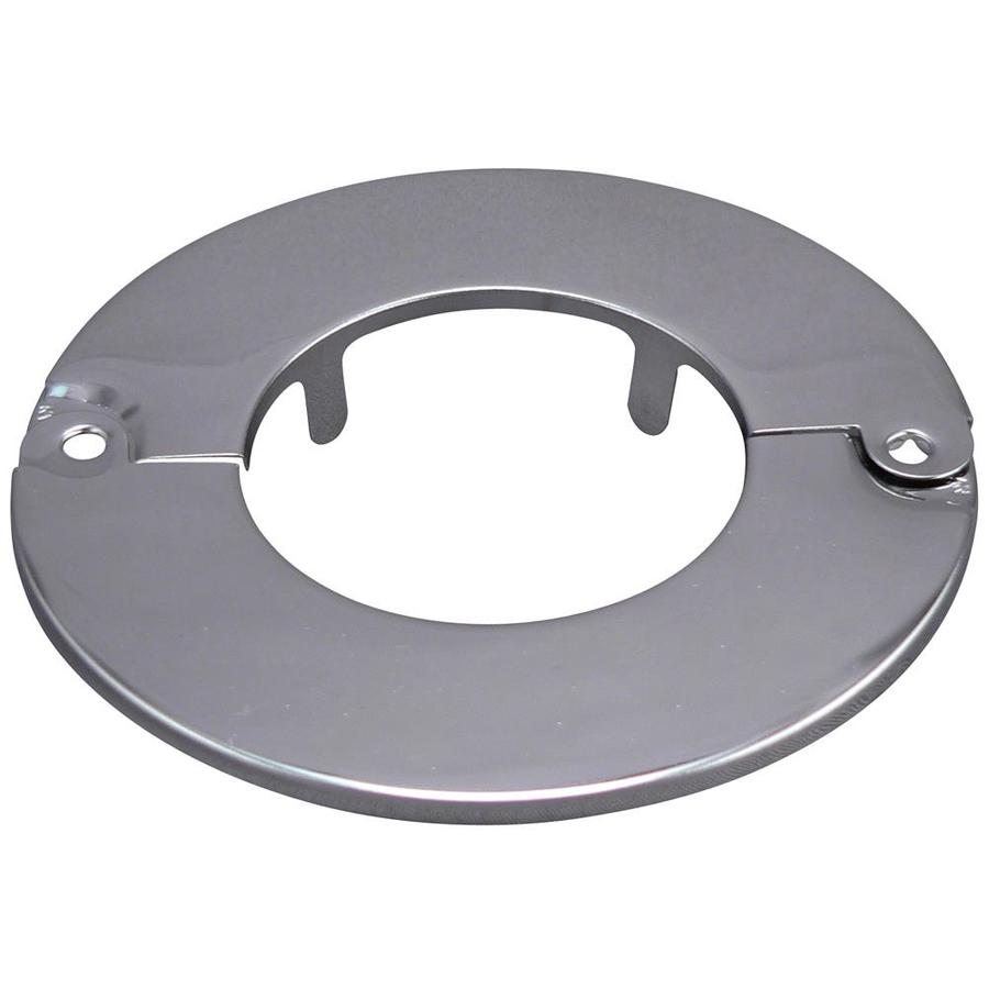 Keeney 3-in Chrome Split Shallow Floor and Ceiling Plate