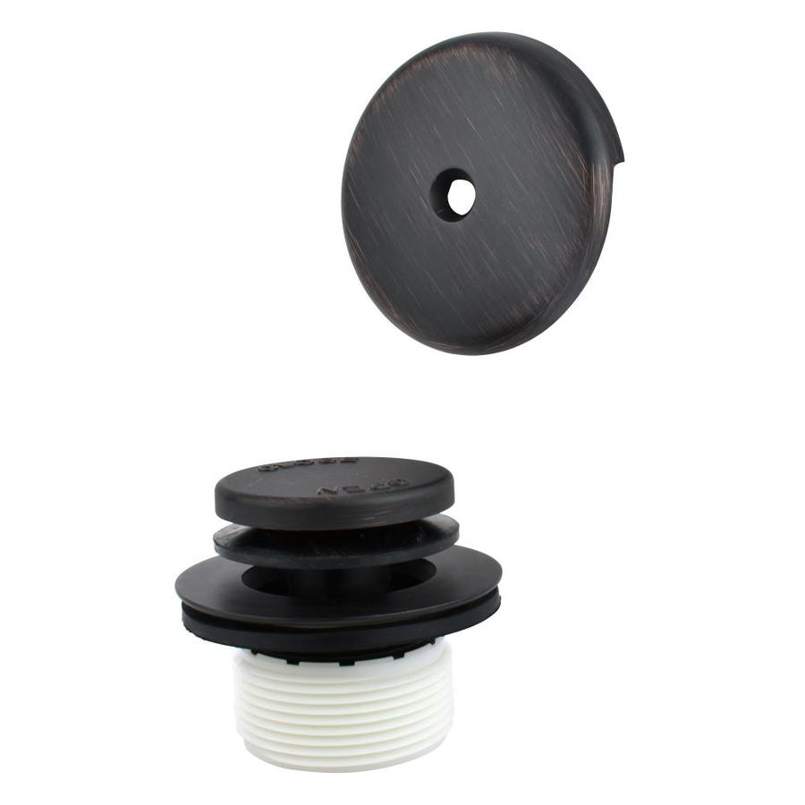 Keeney 1 5 In Oil Rubbed Bronze Foot Lock Drain At Lowes Com