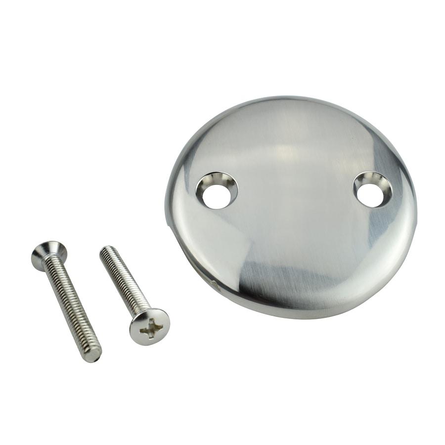 Keeney Brushed Nickel Metal Face Plate