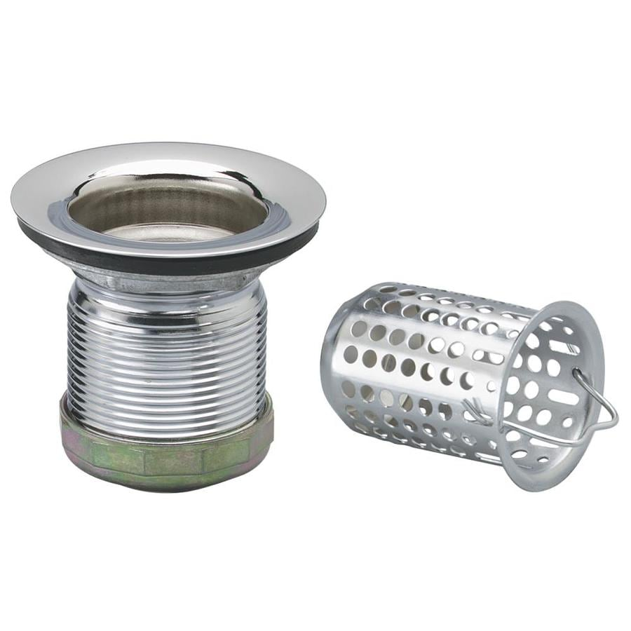 Keeney 2 in Stainless Steel Kitchen Sink Strainer