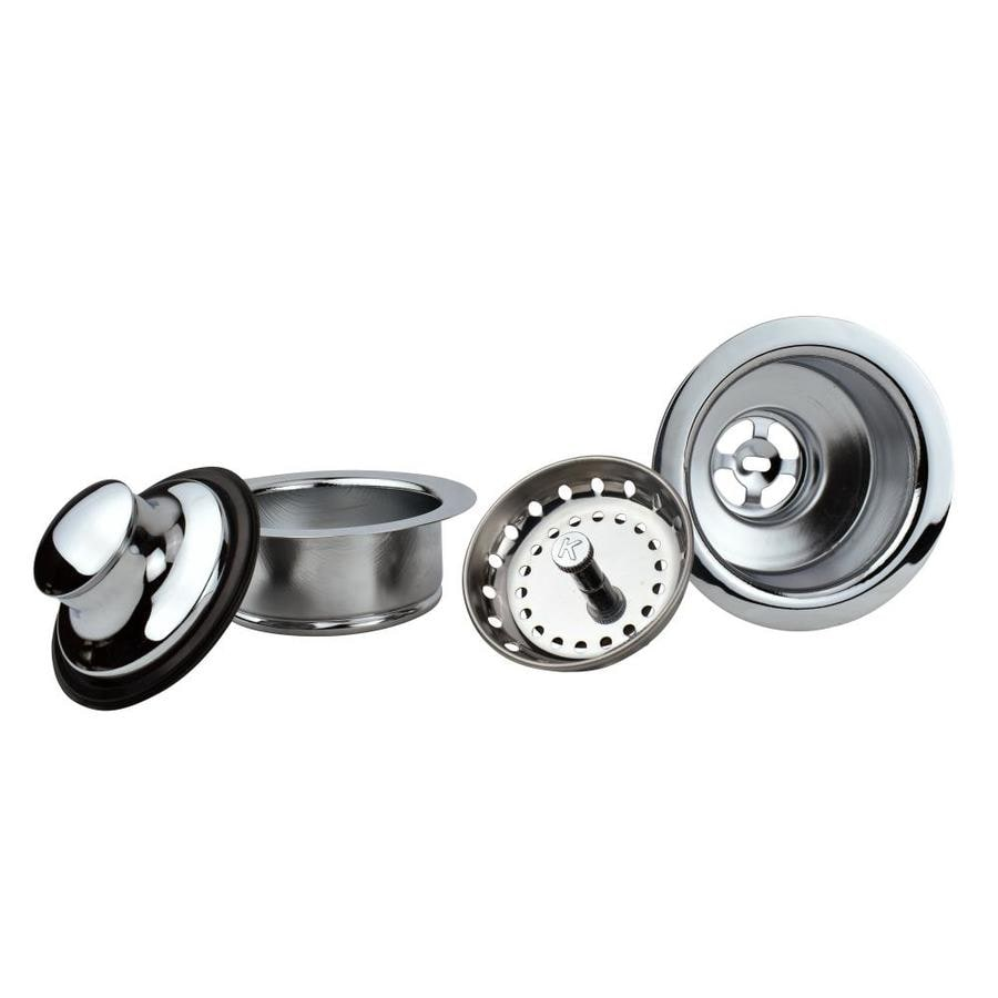 Keeney 4.5-in Chrome Stainless Steel Garbage Disposal Stoppers