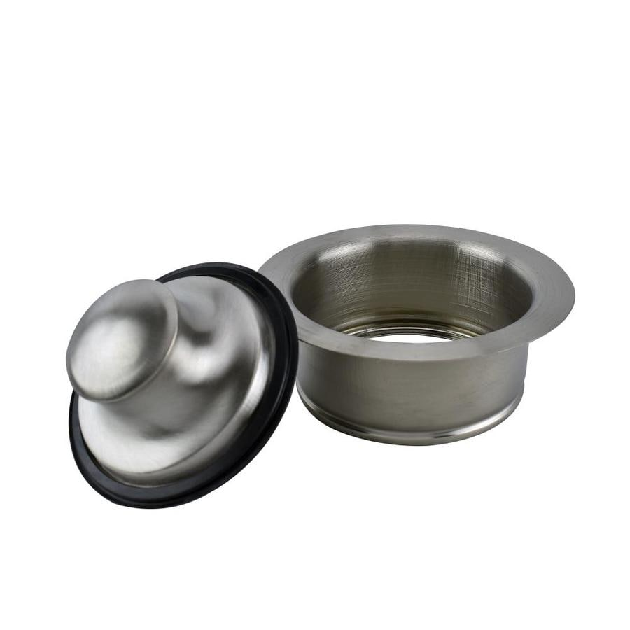 Keeney 4-1/2-in dia Brushed Nickel Stopper Garbage Disposal Flange