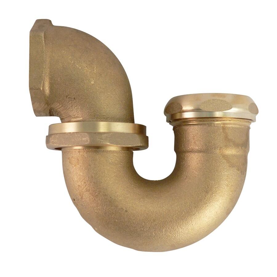 Keeney 1-1/2-in Brass Ny Reg Trap