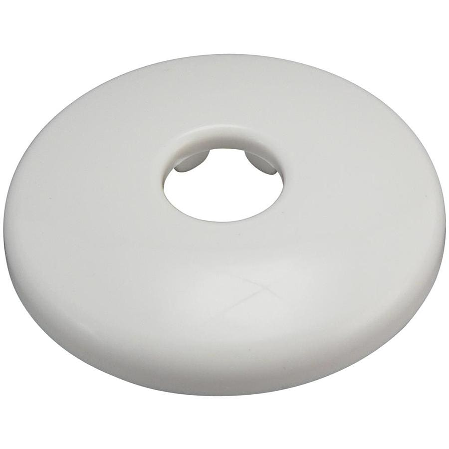Keeney White Shallow Flange