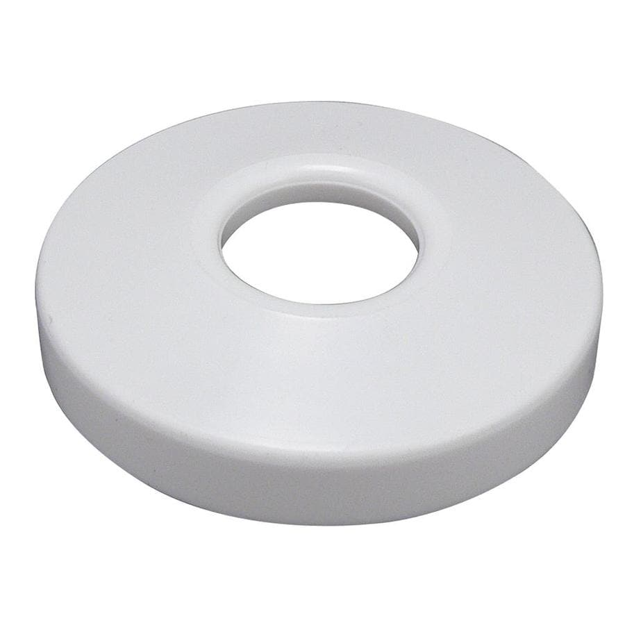 Keeney 2-in White Shallow Flange