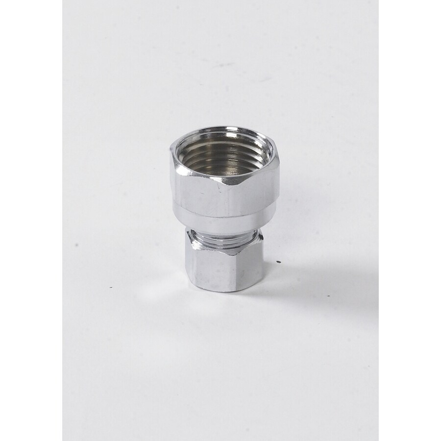 Keeney Mfg. Co. 1/2-in Chrome Compression Nut