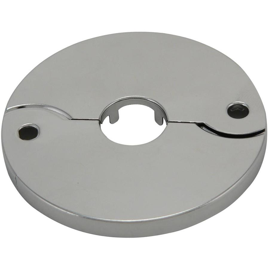 Keeney Chrome Shallow Floor and Ceiling Plate