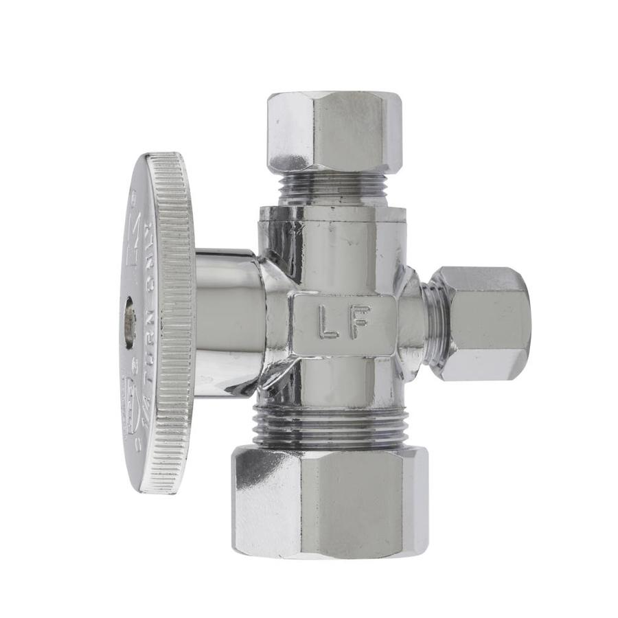 Keeney Brass Compression 3-Way Valve