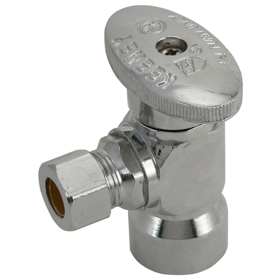 Keeney Brass 1/2-in Female Quarter Turn Angle Valve