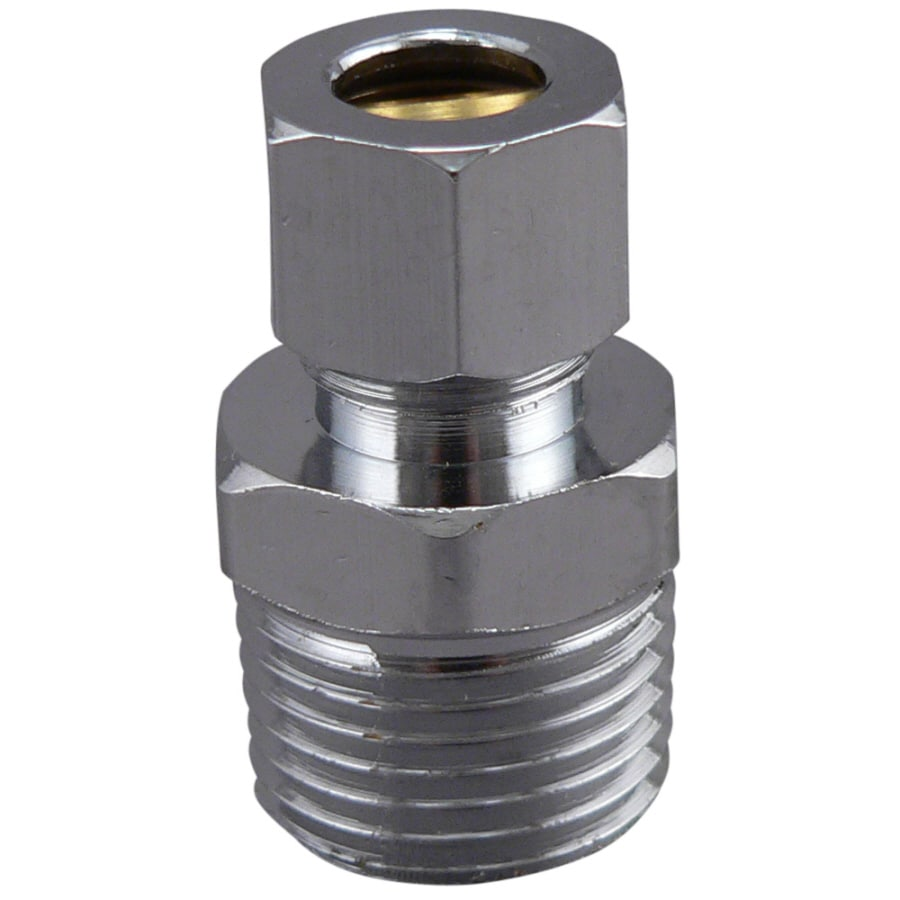 Keeney Mfg. Co. 1/2-in x 3/8-in Compression x MIP Adapter Compression Fitting