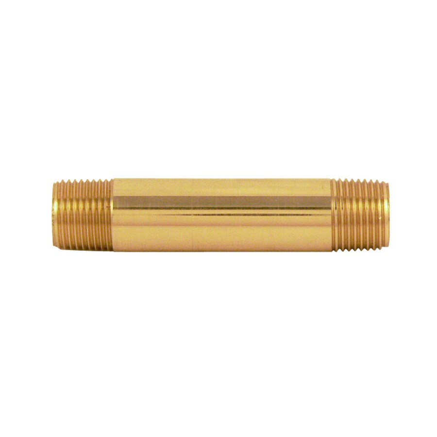 Keeney Mfg. Co. 1/2-in Nipple Brass Pipe Fitting