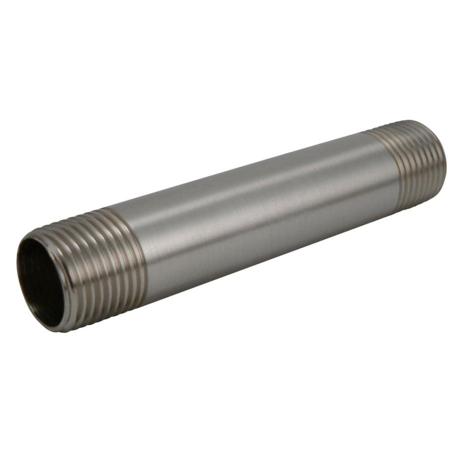 Keeney Mfg. Co. 1/2-in Brushed Nickel Nipple