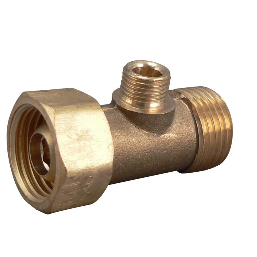 Keeney Rough Brass 3-Way Add-A-Tee