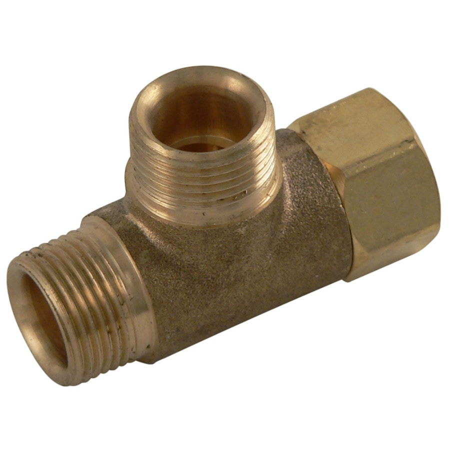 Plumb Pak 3/8-in x 3/8-in x 3/8-in Compression Compression Coupling Adapter Fitting