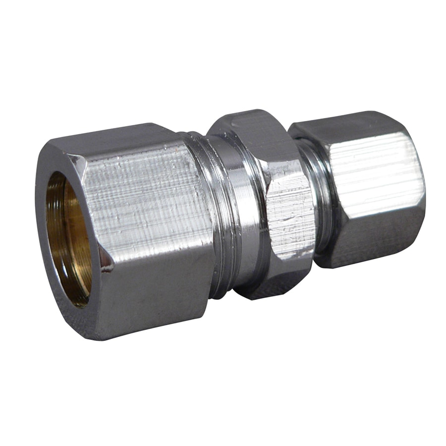 Keeney Mfg. Co. 3/8-in Chrome Compression Nut