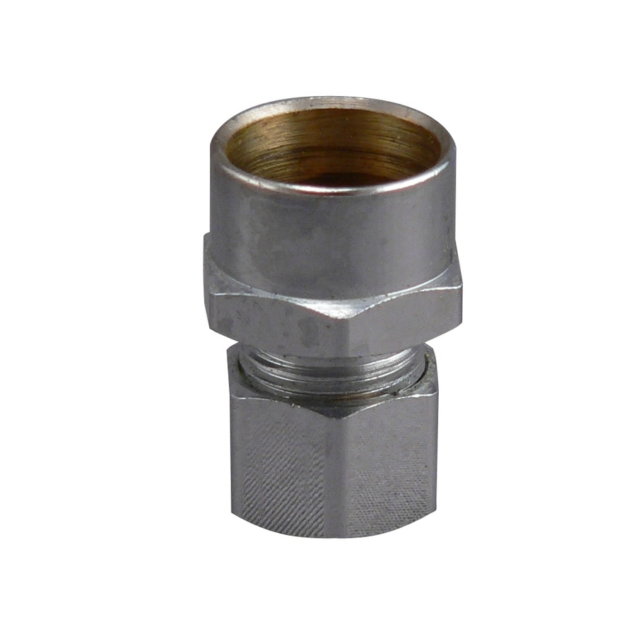 Keeney Mfg. Co. 1/2-in x 3/8-in Solder Compression x Sweat Adapter Fitting
