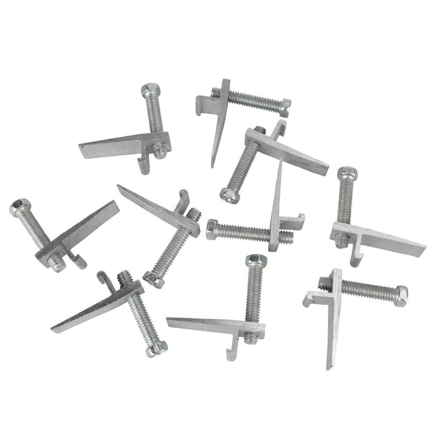plumb pak 10 piece steel kitchen sink mounting clips - Kitchen Sink Clips