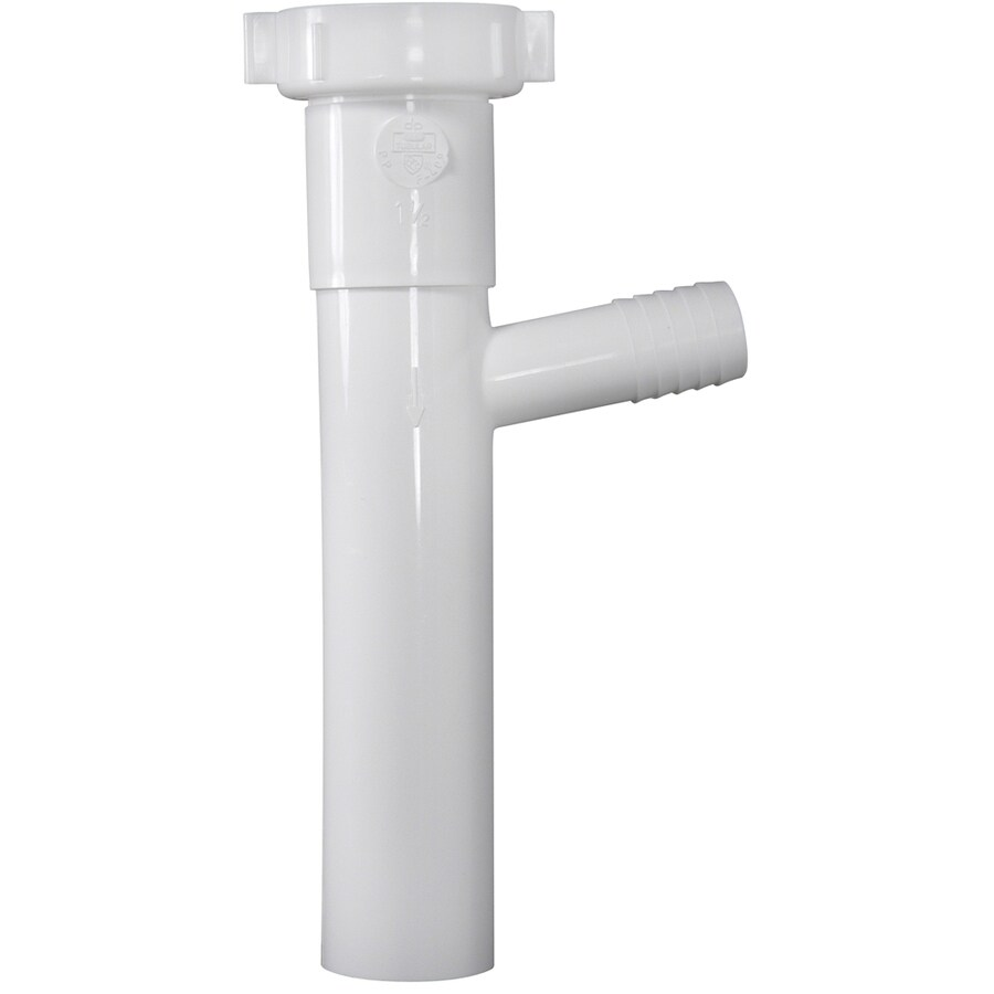 shop keeney 1 1 2 in pvc sink tailpiece at lowes