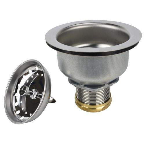 Keeney Plumbers Spec Stainless Steel Kitchen Sink Strainer at Lowes.com