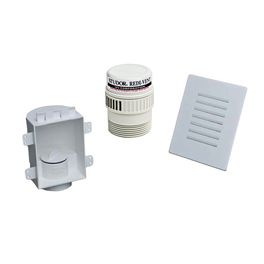 Shop keeney 1 12 in plastic air admittance vent kit at lowes keeney 1 12 in plastic air admittance vent kit sciox Image collections