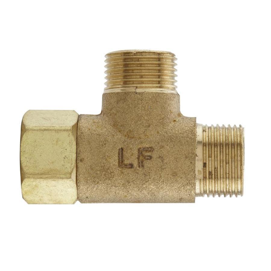 Keeney Lead Free Add-A-Tee Adapter 3/8-in x 3/8-in x 3/8-in