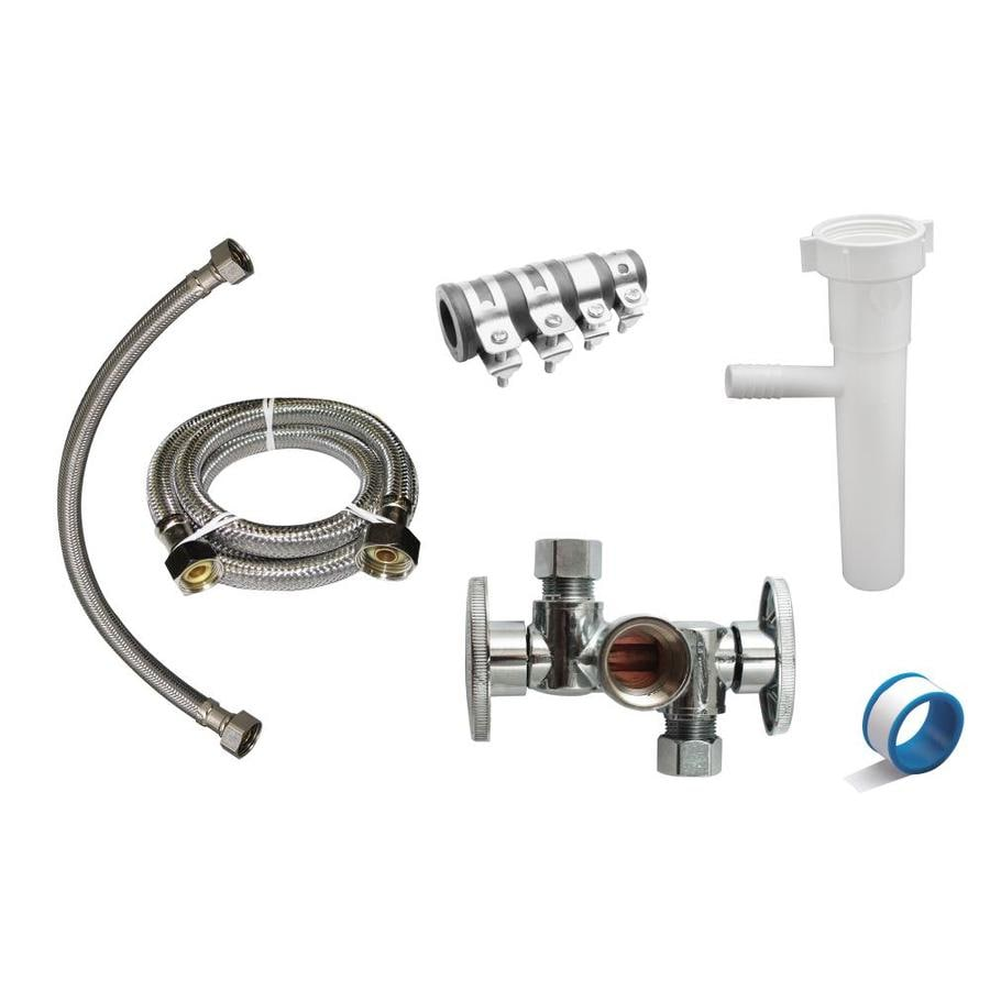 Keeney Dishwasher Installation Kit For 1 1 2 In Pipe In The Plumbing Installation Kits Department At Lowes Com
